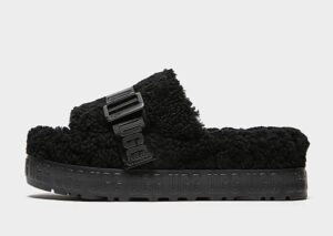UGG Fluffita Slides Dames (Black)