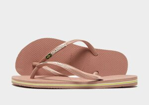 Havaianas Slim Brasil Flip Flops Dames (Pink)