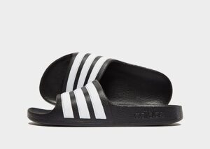 adidas Adilette Slides Kinderen (Black/White)