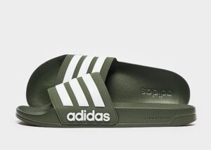 adidas Cloudfoam Adilette Slides Heren (Green)