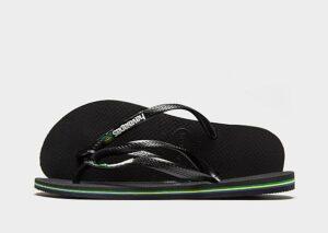 Havaianas Slim Brasil Flip Flops Dames (Black)