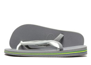 Havaianas Brazil Mix- teenslippers (Grey/White)