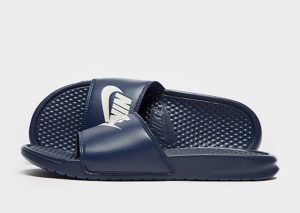 Nike Benassi Just Do It Slides Heren (blauw)