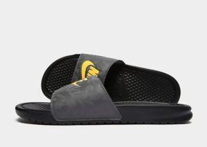 Nike Benassi Slides Heren (grijs)