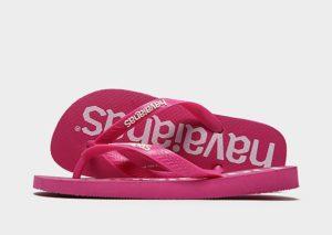 Havaianas Logomania Flip Flops Dames (roze)