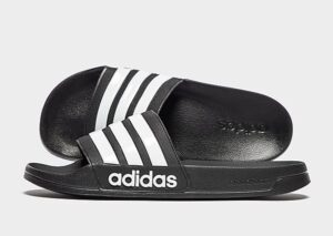 adidas Cloudfoam Adilette Slides Heren (Black)