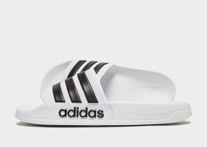 adidas Cloudfoam Adilette Slides Heren (White)