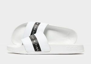 Pink Soda Sport Spritz Slippers Dames (White/Black)