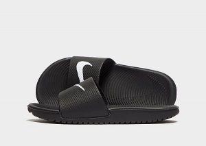 Nike Kawa Slides Kinderen (Black/Pink)