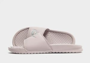 Nike Benassi Just Do It Slippers Dames (Pink/Silver)