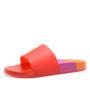 Katy Perry gekleurde badslippers (rood)