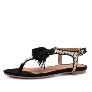 spm nantes sandaal zwart (zwart)