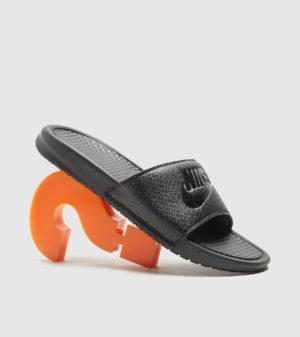 Nike Benassi Slippers (zwart)