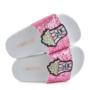 The White Brand Damesslippers glitter pink k10 (Overige kleuren)